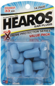Hearos Xtreme Protection, 14-Pair Foam