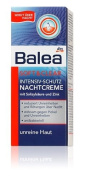 Balea Soft + Clear Intensive Protection Night Cream with Salicylic Acid and Zinc - For Skin Prone to Pimples, Blackheads & Inflamed Patches - Vegan / No Animal Testing - 50ml
