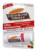 Palmers Cocoa Butter Ultra Moisturising Tinted Dark Chocolate And Cherry Lip Balm Spf15