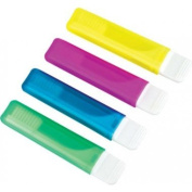 Travel Toothbrush with Colour Handle x 3