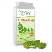 Moringa 500mg 120s Capsules - 100% Pure Moringa Manufactured Under GMP Licence for Guaranteed Quality & Safety