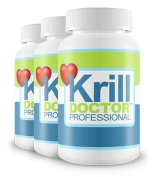 1200mg High Strength Krill Oil Triple Pack - Sourced from the Antarctic Ocean, As seen in Dr Hilary Jones Live to 100