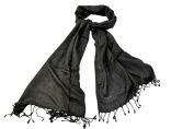Bewitched Accessories Pashmina Style Scarf In Black
