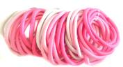 Allsorts® 36 Pink Tones Endless Elastics Hair Bobbles Elastic Bands Hair Accessory