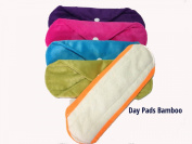 Cheeky Mama Bamboo Minkee Maternity or Heavy Flow Cloth Washable Sanitary Pads Towels - 10 pack
