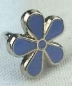 Forget-Me-Not Flower Alzheimer's Awareness Enamel Pin Badge