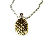 Charm Buddy Game of Thrones Daenerys Targaryen Golden Dragon Egg Pendant Necklace