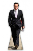 David Cameron Lifesize Cardboard Cutout Standee