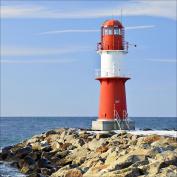 "Pro-Art gla692a Glass Art Wall Picture 30 x 30 cm ""Lighthouse I"""