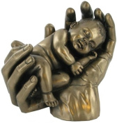 """""""SWEET DREAMS"""" COLD CAST BRONZE BABY SCULPTURE FIGURINE BABIES BRAND NEW & BOXED"""