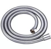 Shower Bath Pipe Hose 1.5m Stainless Steel Chrome Finish Flexible Modern NEW