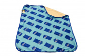 Doctor Who Repeat Tardis Throw, Blue