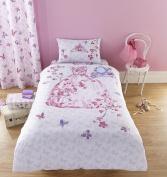 Catherine Lansfield Glamour Princess Single Duvet Cover & Pillowcase Set
