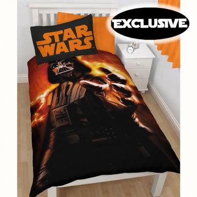 Star Wars Duvet Cover Darth Vader Rise Single Size