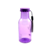 350ML Soda Bottle Leak-proof Unbreakable Travel Cycling Water Cup Purple