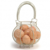 Garden Trading Wire Egg Basket - Clay Finish