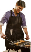 5 Piece BBQ Barbecue Apron & Tool Set