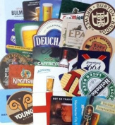 Traditional Pub Beer Mats (Pack of 25) - Series 4