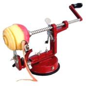 TIPS© 3 IN 1 APPLE PEELER SLICER CORER DICER CUTTER KITCHEN POTATO FRUIT & VEG MACHINE