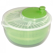 Xavax 1-Piece Xavax Salad Spinner, Green