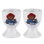 Royal Worcester 2-Piece Paddington Bear Egg Cup Set, Multi-Colour