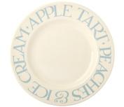 Emma Bridgewater - Pale Blue Toast 22cm Plate