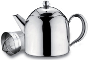 Grunwerg Belmont Deluxe 18/10 Stainless Steel Teapot With Infuser Mirror Finish 500ml - HT-017X