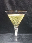 Finishes Touches Party Store - 6 Disposable Plastic Martini Cocktail Glasses