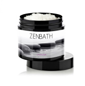 PREMIUM LAVENDER BATH SALTS by ZenBath® - Based in Pure Vitamin E Oil & Lavender Essential Oil - 100% Mediterranean Sea Salt ☆ High Absorption and Potency - For Ultimate Relaxation, Stress & Anxiety Relief, Ache/Pain/Tension Relief & Soothing Skin C ..