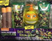 Teenage Mutant Ninja Turtle Bath Time Ninja Set with Foam Nunchucks