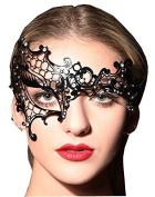 Women's Sexy Signature Phantom Of The Opera Masquerade Mask,Right
