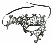 Women's Sexy Signature Phantom Of The Opera Masquerade Mask,Left