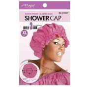 Magic Brand Waterproof Shower Cap w/ Elastic Band Extra Large - 2 pieces