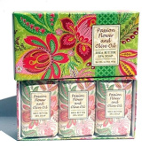 Greenwich Bay Sculpted Spa Soap Gift Set Passion Flower & Olive Oil