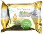 Ma Provence Organic Soap Bar Argan Oil with Calisson Perfume 75g 80ml