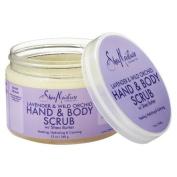 Sheamoisture Lavender & Wild Orchid Hand & Body Scrub - 350ml