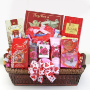 The Ultimate Spa and Chocolate Gift Basket for Valentines Day