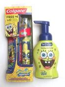 Sponge Bob Colgate Powered Toothbrush & Softsoap Foaming Hand Soap