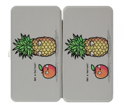 """Haircut Pineapples"" Fruit Humour - Taiga Hinge Wallet Clutch"