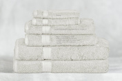 Bamboo Towel Set - Ivory - 6 Piece Set - Available in 20 Colours