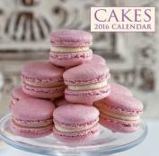 Cakes 2016 Calendar