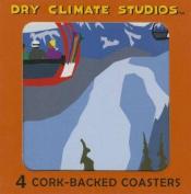 Rocky Mountain Winter Coaster Set