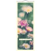 Ambient Blooms Slim Calendar