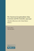 The 'American Exceptionalism' of Jay Lovestone and His Comrades, 1929-1940