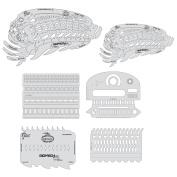 Artool Freehand Airbrush Templates, Biomech Spinal Trap