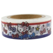 Sanrio Hello Kitty Design Decorative Masking Craft Tape