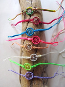 Assorted Colours Pack of 25 Bracelet Dream Catcher Pattern Adjustable One Size