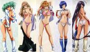 Ikki Tousen / Battle Vixens 18+ CUSTOM PLAY MAT ANIME PLAYMAT #163