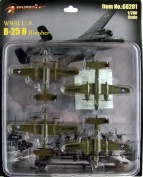 MRT62801 1:200 Merit B-25B Mitchell Bomber Set (4 pcs)