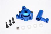 Axial Yeti Upgrade Parts Aluminium Steering Assembly - 6 Pcs Blue